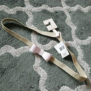 KATE SPADE Bow Belt Sz L/XL NEW
